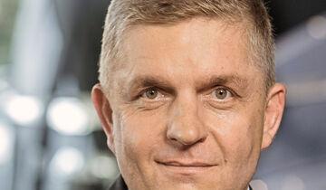 Portrait Holger Mandel, Vorsitzender der Geschäftsführung MAN Truck & Bus Deutschland