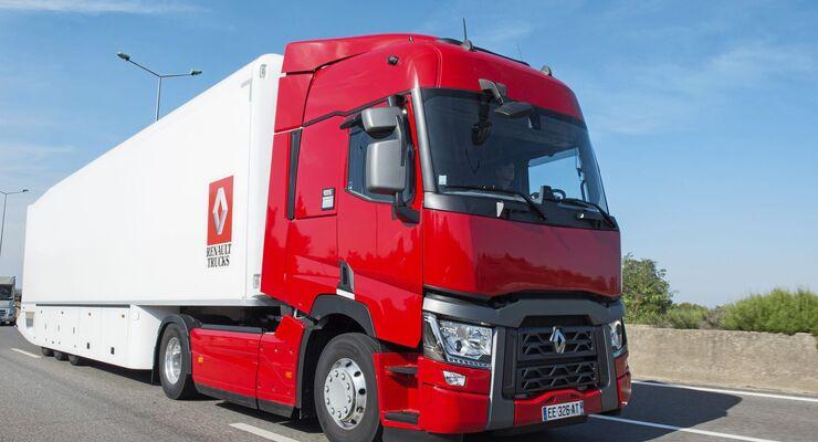 Präsentation Renault Trucks T 440 neuer Motor Common-Rail
