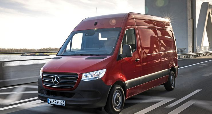 Pressefahrvorstellung Mercedes-Benz Sprinter, Amsterdam 2018  Press test drive Mercedes-Benz Sprinter, Amsterdam 2018