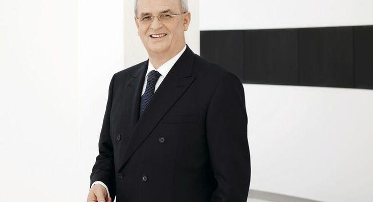 Prof. Dr. rer. nat. Martin Winterkorn/Vorsitzender des Vorstands der Volkswagen AG, Mitglied des Vorstands der Volkswagen AG, Geschaeftsbereich ?Konzern Forschung und Entwicklung?, Vorsitzender des Aufsichtsrats der Audi AG, Vorsitzender des Vorstands der Porsche Automobil Holding SE