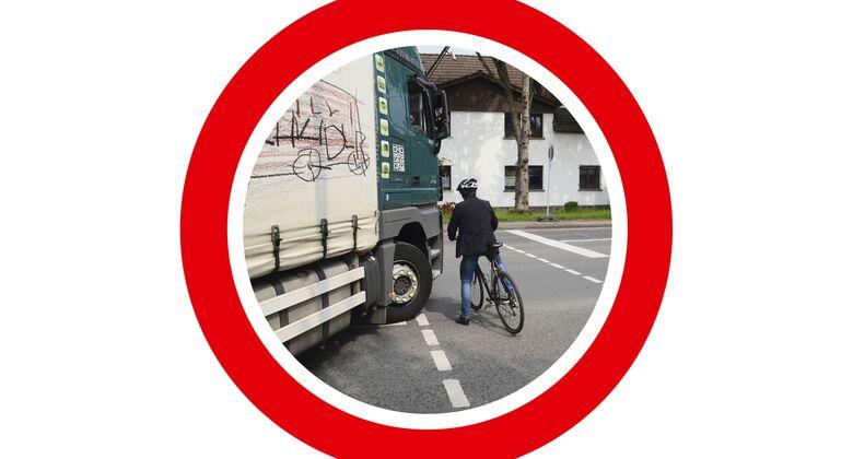 Rechtsabbiegeverbot für Lkw in Österreich?