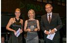 Reifen, v. li.: Alexandra von Lingen, Simone Loosemann, Michelin Reifenwerke AG & Co. KGaA, Oliver Trost