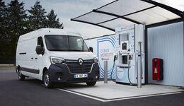 Renault Kangoo Z.E. Hydrogen und Master Z.E. Hydrogen