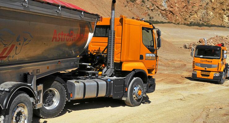 Renault Lander Optitrack, Fahrbericht