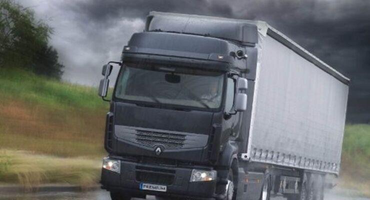 Renault Magnum mit neuem Sicherheitsfeature