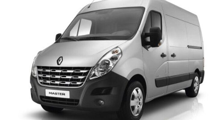 Renault Master bietet fast 300 Varianten