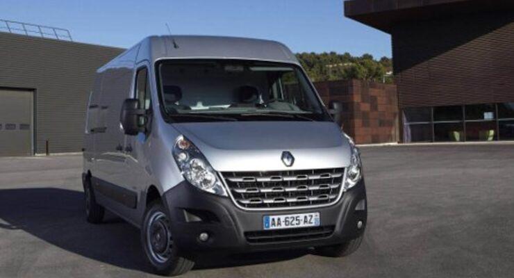 Renault Master kostet ab 22.990 Euro