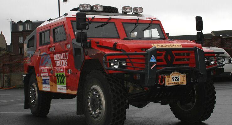 Renault startklar für Rallye Dakar