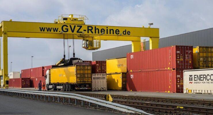 Rheine, Logistikstandort 2015 NRW
