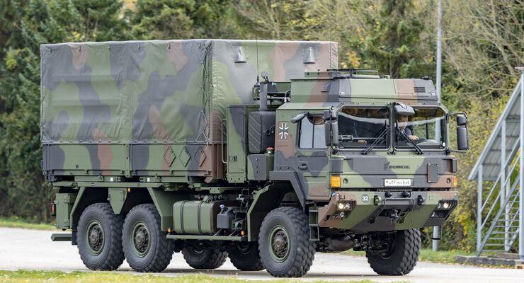 Rheinmetall MAN HX2 Übergabe an Bundeswehr