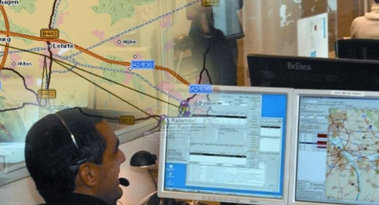 Routenplanung mit Emissionsberechnung