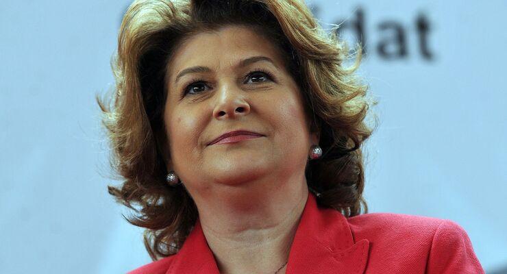 Rovana Plumb von der Partei Partidul Social Democrat