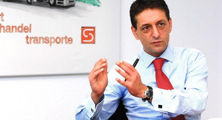 Rui Macedo, Geschäftsführer Sievert Handel Transporte