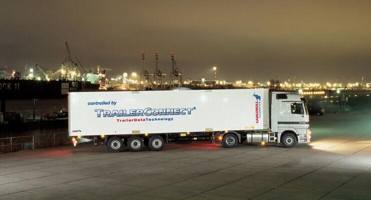 S.KO COOL Tiefkühlauflieger mit Schmitz Cargobull-Kühlgerät.