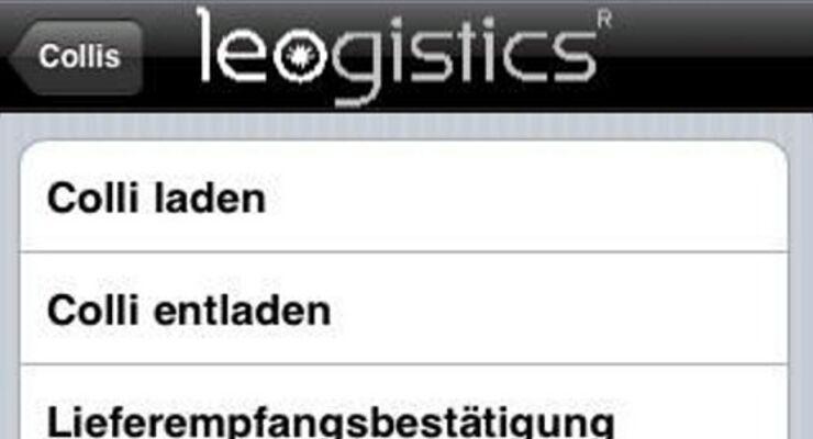 SAP-Transportmanagement für das Smartphone