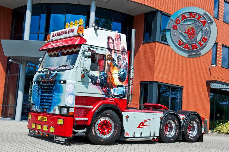 Scania 142 Harry Price, Vabis