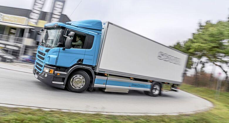 Scania Erdgas