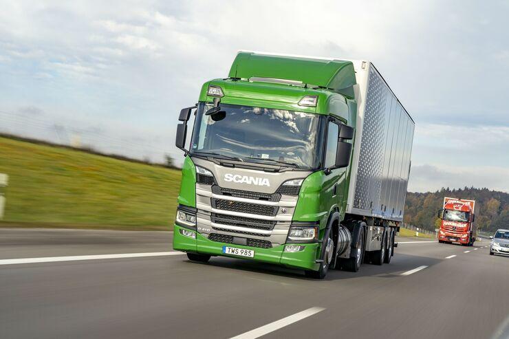 Scania G 410 LNG