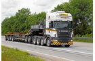 Scania R730 LA 8x4/4 HNB, Wallek, Leere Zug