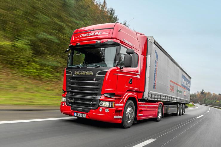 Scania R730 Topline, Fahrzeuge, Test, Strimline