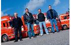 Scania-Sammlung in Orange, Toon Verbeek, Söhne
