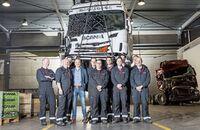 Scania Used Parts Centre Fahrzeug Recycling