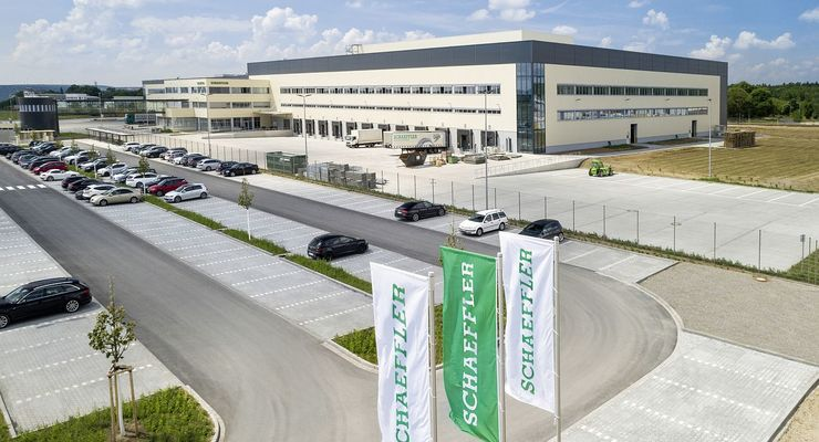 Schaeffler-Logistikzentrum in Kitzingen