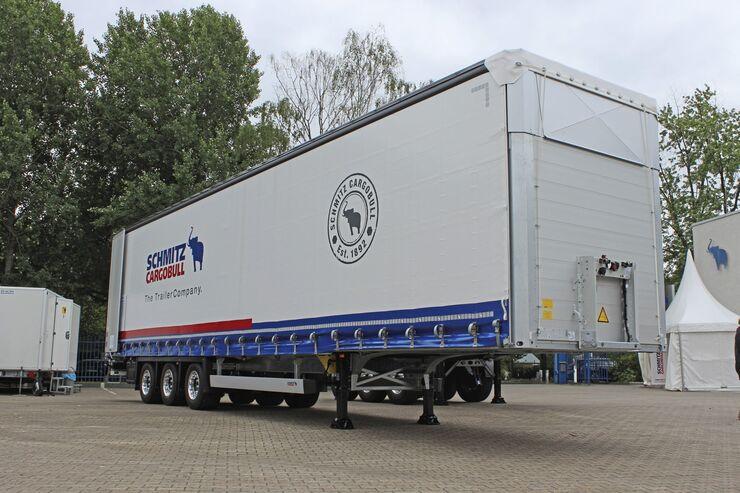 Schmitz Cargobull IAA Premiere Berlin 2018 Van Bodie Van Body Kühlmaschine Kühltrailer Trailer
