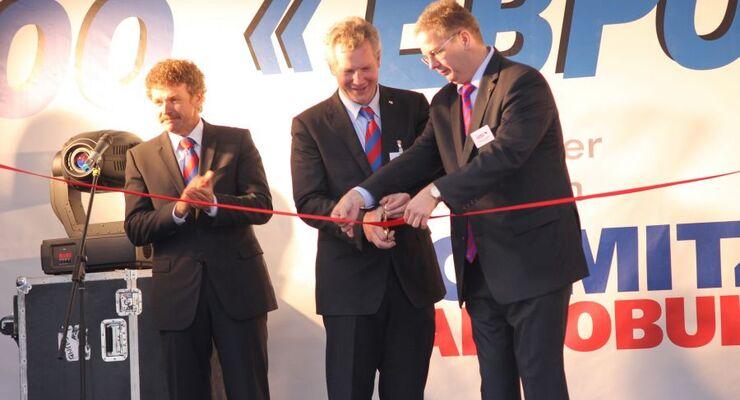 Schmitz Cargobull, OOO Euroservice, Kaliningrad, Eröffnung