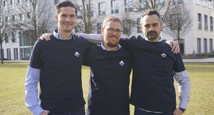 Sebastian Sorger, Maximilian Rabl, Damir Abdic (alle Loadfox)