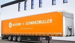 Sennder-Plane für Schwarzmüller-Trailer