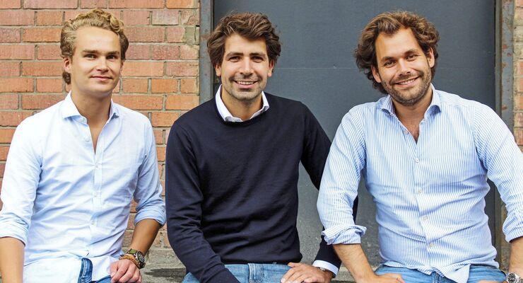 Sennder, Start-up, Nicolaus Schefenacker, Julius Koehler, David Nothacker (v. l.)