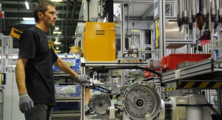 Serienanlauf für 8-Gang-Automatgetriebe von ZF