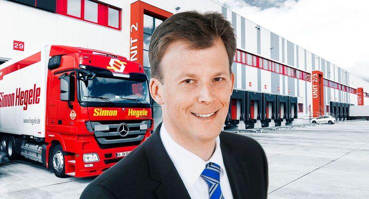 Simon Hegele, Geschäftsführer Christian Dorf