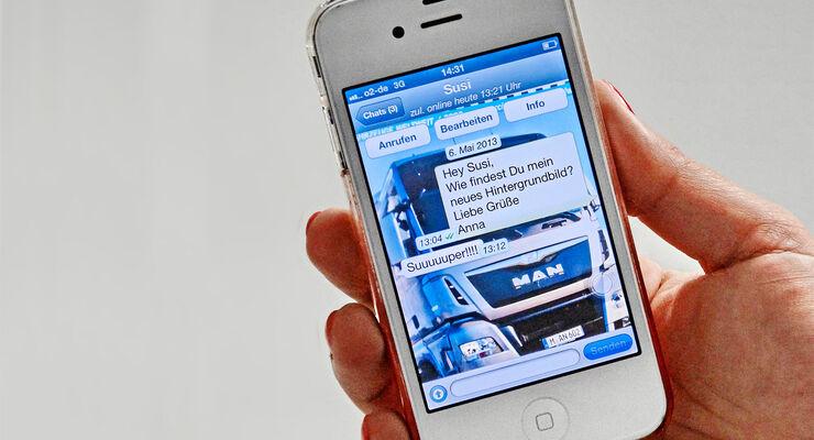 Smartphone-Messenger statt SMS