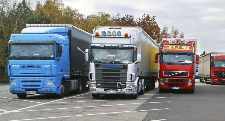 Stellplat, Autobahn, 2011