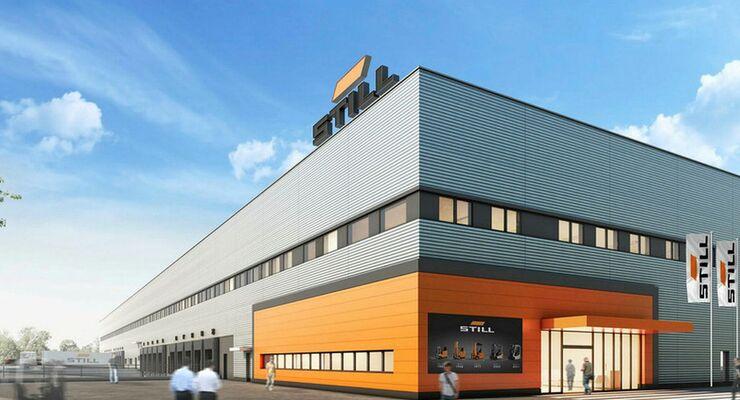 Still Logistikzentrum Hamburg-Billbrook, ECE Projektmanagement