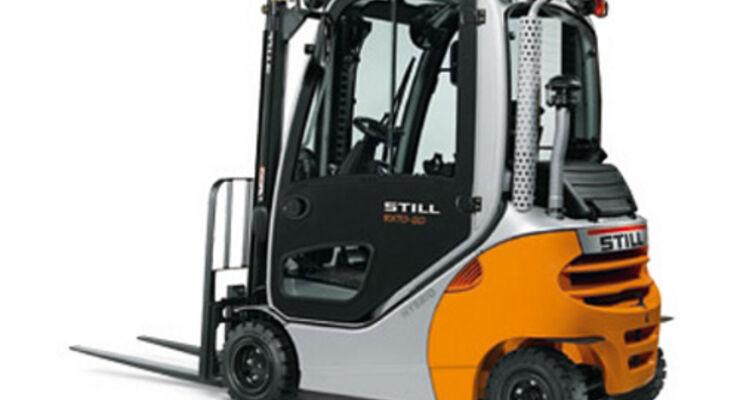 Still präsentiert Hybrid-Stapler RX 70