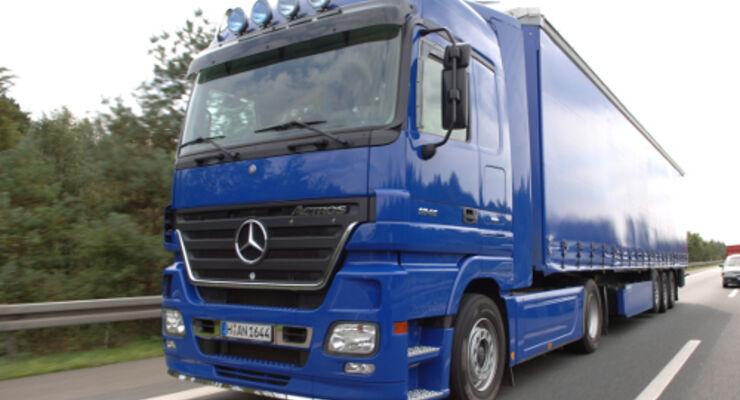 Straßengüterverkehr: Leichter Rückgang der Preise