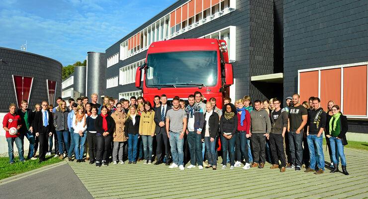 Studenten, Duale Hochschule Lörrach Logistik