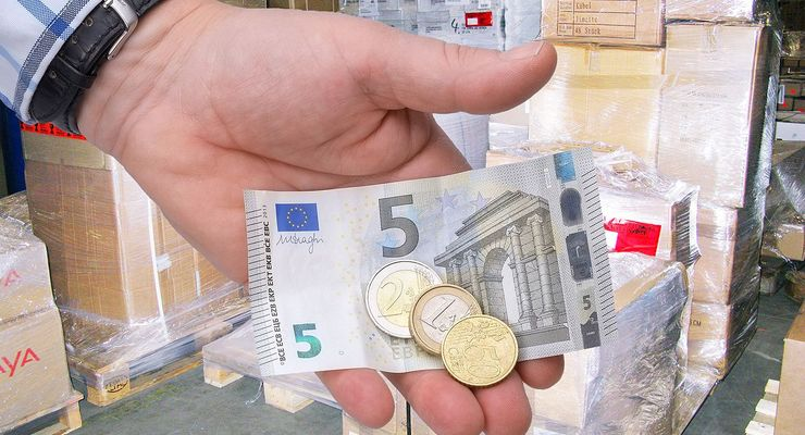 Stückgut, Geld, 8,50 Euro, Mindestlohn