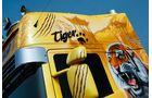 Supertruck FERNFAHRER 03-2011, Scania R 500 Tiger von Juha Ristimaa aus Finnland, Fahrert�r, Spiegel, Airbrush