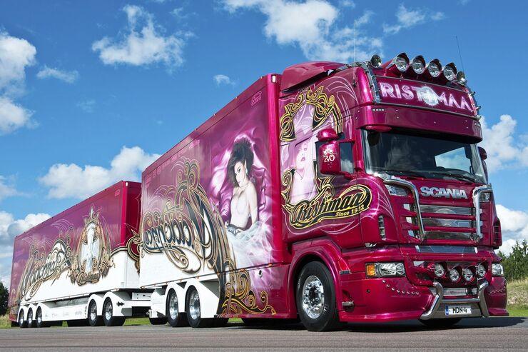 "Supertruck Scania Ristimaa """"Madonna"""""