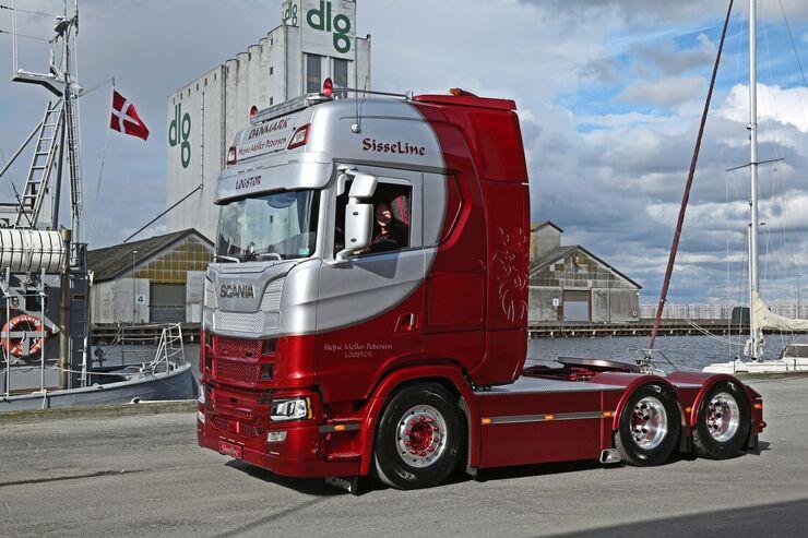 Supertruck Scania S730 Pedersen, FF 1/2018.