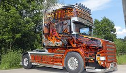 Supertruck Steininger Scania Hauber Teufel