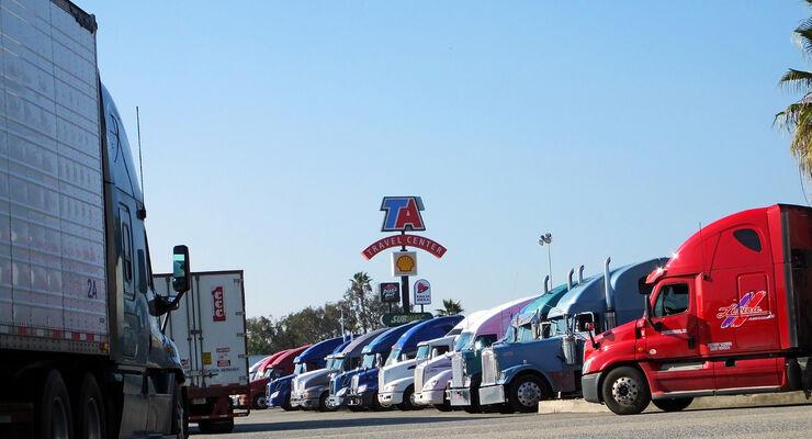 TA-Petro Truckstop in Ontario, Kalifornien