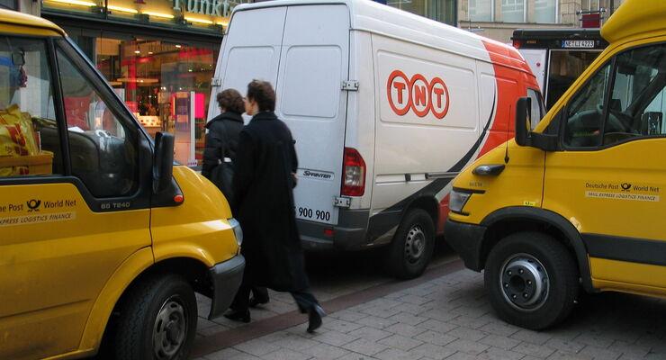 TNT: Rechtsstreit mit der Deutschen Post