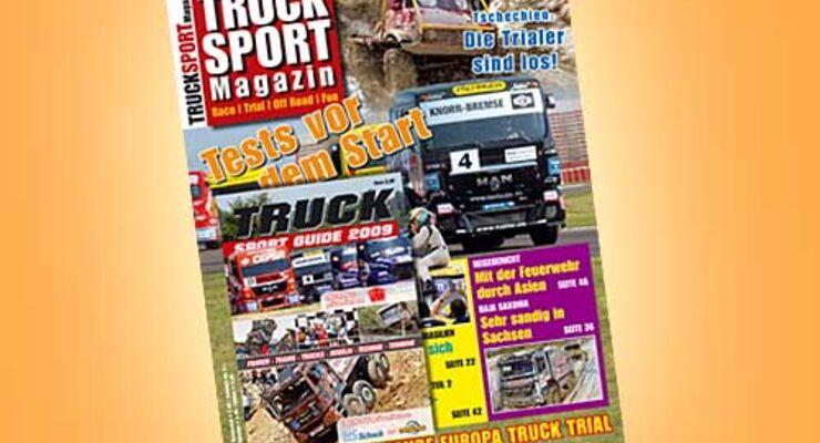 TRUCK SPORT Magazin jetzt am Kiosk
