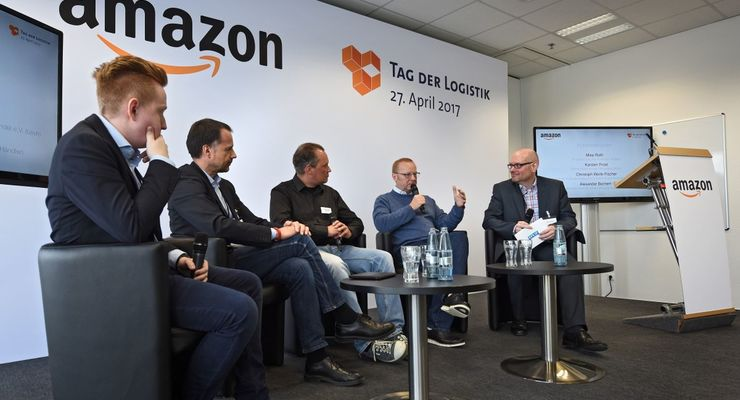 Tag der Logistik, Amazon, Diskussion