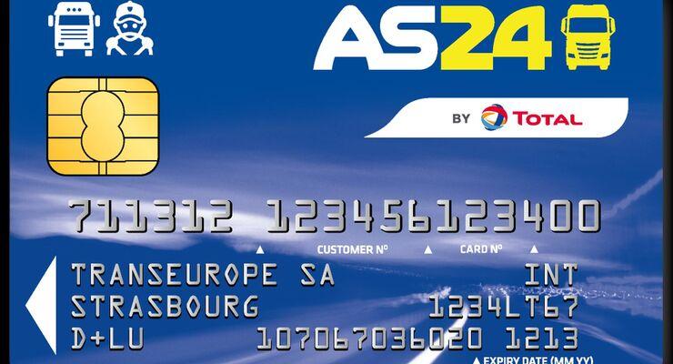 Tankkartenübersicht 2011: AS24 Eurotrafic